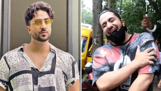 Aly Goni took a dig at celebrities posting their vaccination videos online.