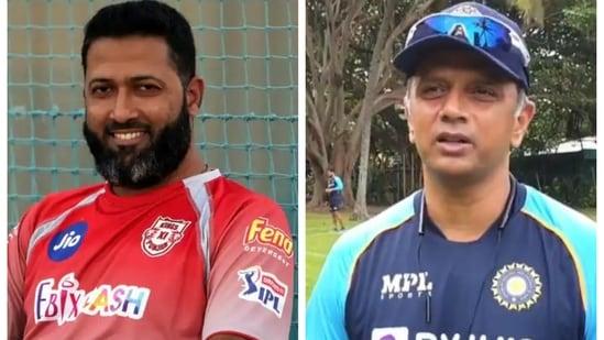 Wasim Jaffer and Rahul Dravid