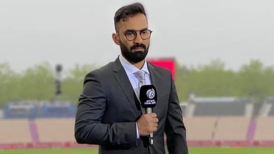 Dinesh Karthik revealed he received plenty of abuses from fans during his duties as 'weatherman'. (Dinesh Karthik/Instagram)