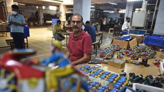 PHDCCI charts out comprehensive plan to boost toy production to increase the supply of Indian toys globally.(Raj K Raj/HT Photo)