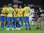 Brazil (players in picture) wlil Argentina in Copa America final(REUTERS)