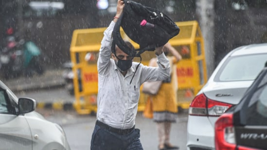 Heavy rainfall is expected over Haryana, Chandigarh and Delhi and west Uttar Pradesh during July 11-13. (PTI File Photo)