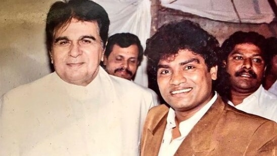 Dilip Kumar had once done a 'small mimicry act' for Johnny Lever.