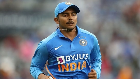 Prithvi Shaw is a key part of India's squad in Sri Lanka. (Getty Images)