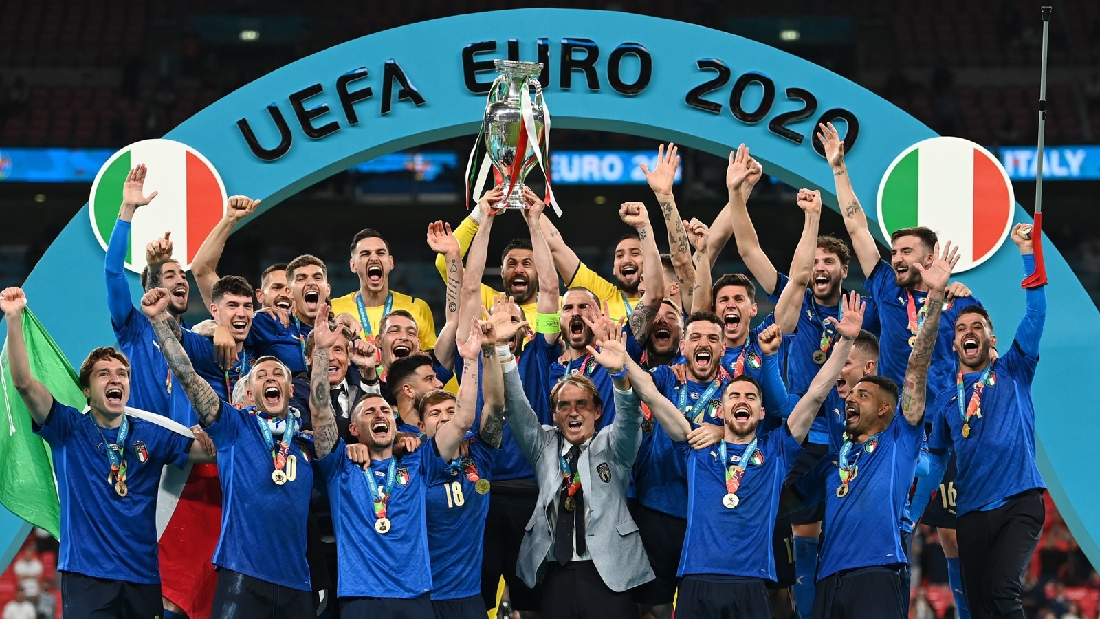 Italy beat England 3-2 on penalties in final to win their  2nd European Championship title   Football News - Hindustan Times