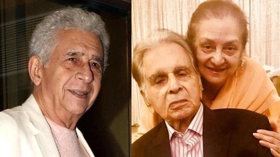 Naseeruddin Shah says Dilip Kumar's wife Saira Banu had visited him at the Hinduja Hospital.
