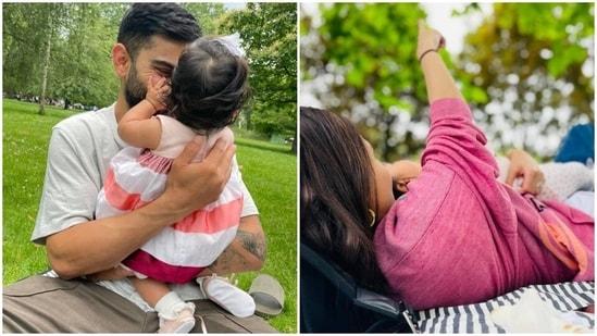 Anushka Sharma and Virat Kohli celebrated their daughter's six months birthday.