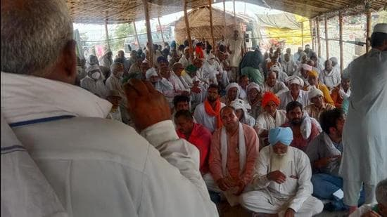 7 months and farmers protest against 3 agri-laws continues in Rajasthan