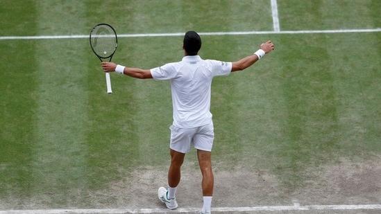 Novak Djokovic beats Matteo Berrettini to win 6th Wimbledon title and 20th  Grand Slam title | Hindustan Times