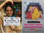 Ankita Lokhande, who began shooting for Pavitra Rishta, shared a throwback picture on Monday.
