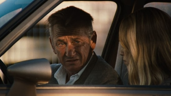 Sean Penn in a still from his film, Flag Day.