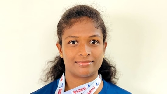 Orphaned at 5, sprinter Revathi Veeramani gears up to live the Olympic dream.(TWITTER/FILE)