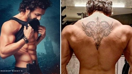 Akhil Akkineni's transformed look for Telugu film Agent.