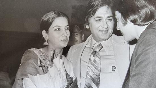 Sunil Dutt introduced Shabana Azmi to Sanjay Dutt.