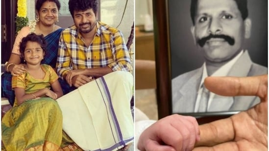 Sivakarthikeyan and his wife Aarti also have a daughter, Aradhana together.