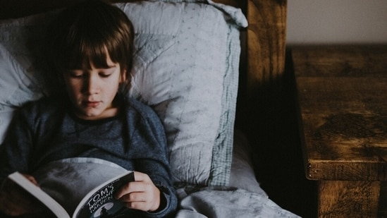Study says gender stereotypes about reading holds back boys from reading fiction(Unsplash)