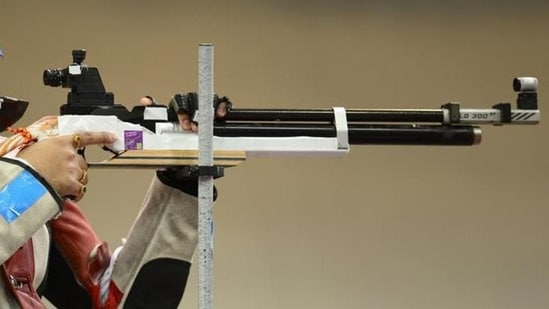 File image of an athlete during shooting World Cup.(Getty Images)