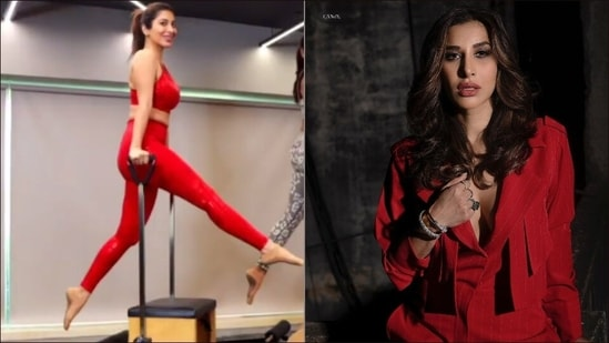 Sophie Choudry's 'flawless Pilates moves' are the perfect Monday motivation(Instagram/yasminkarachiwala/sophiechoudry)