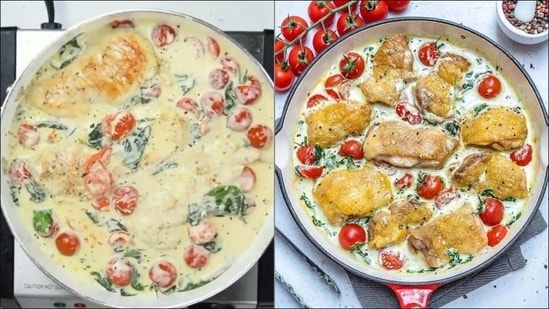 Recipe: Confused about dinner tonight? Try Creamy Italian Chicken(Instagram/ healthyfitnessmeals)