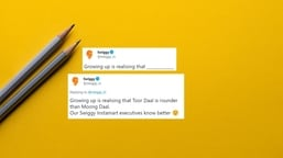 """Swiggy asked people to complete this sentence - """"Growing up is realising that _____"""""""