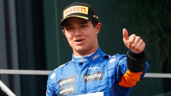 McLaren's Lando Norris says his watch was stolen after he left the European Championship final.(REUTERS)