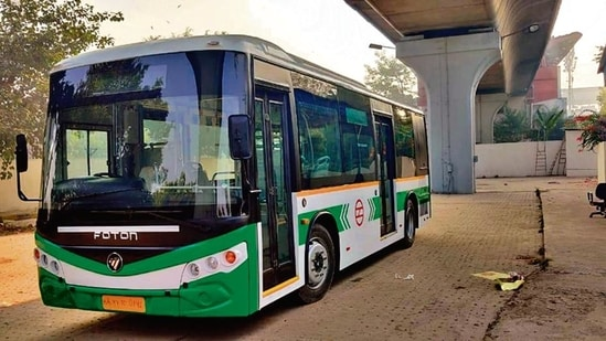 DMRC will induct 25 e-buses by next month.(Sourced)