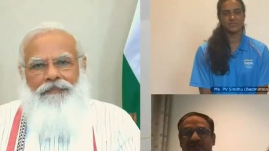 PM Modi interacts with India's Tokyo Olympics-bound athletes | Olympics -  Hindustan Times
