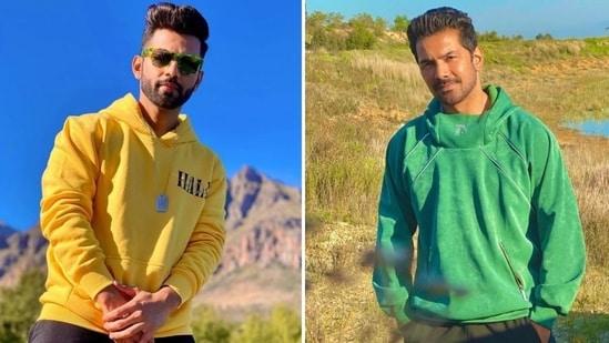 Abhinav Shukla and Rahul Vaidya shot for Khatron Ke Khiladi 11 in Cape Town.