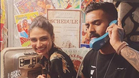 Athiya Shetty and cricketer KL Rahul have been rumoured to be dating for a while now.