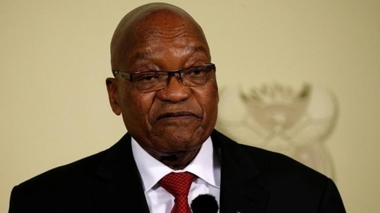 """At least 10 people have been killed and more than 490 arrested """"in acts of public violence rarely seen in the history of our democracy,"""" Ramaphosa said.(Reuters Photo)"""