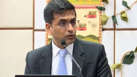 Justice DY Chandrachud(Photo: Screengrab/ YouTube)