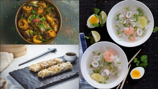 Monsoon special Chinese recipes: Fried chilli squid, lamb rolls, sea-food soup(Chowman)