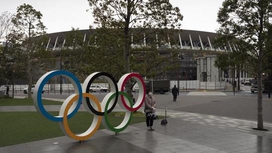 Tokyo Olympics village.(AP)