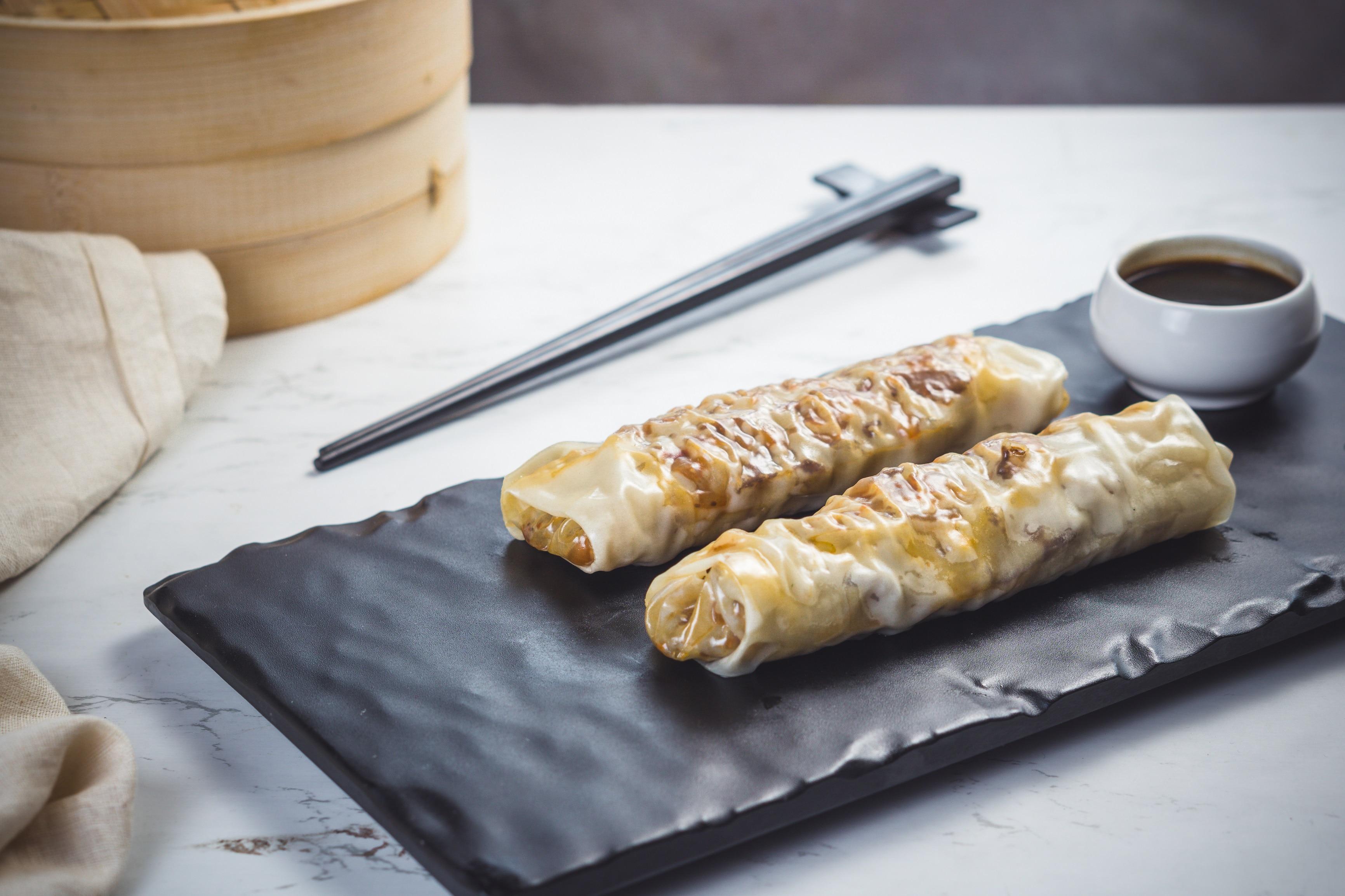 Lamb rolls in soya sauce(Chowman)
