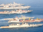 While India has suffered from sea blindness over the years with land-based security doctrines, historically and geostrategically, it has 7,000km of coastline and over 2 million km of exclusive economic zone.(ANI Twitter. Representative image)