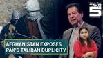 Afghan First VP Amrullah Saleh and Pakistani Parliamentarian Mohsin Dawar have exposed Islamabad's tango with Taliban (Agencies)