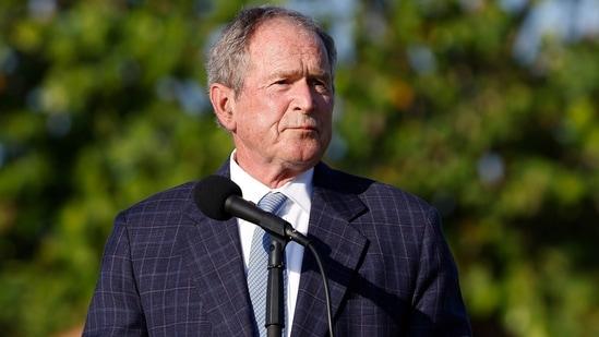 Former US President George W Bush.(AFP)