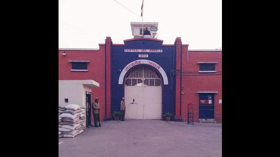 The Ambala Central Jail where the incident took place on Tuesday. (HT file photo)
