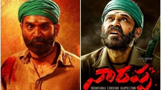 Venkatesh's Narappa is a remake of Dhanush starrer Tamil film, Asuran.