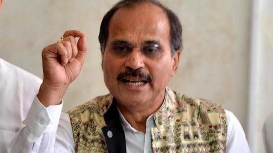 File photo of Congress leader Adhir Ranjan Chowdhury.(ANI)