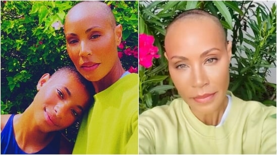 Jada Pinkett Smith goes bald after getting inspired by daughter Willow Smith(Instagram/@jadapinkettsmith)