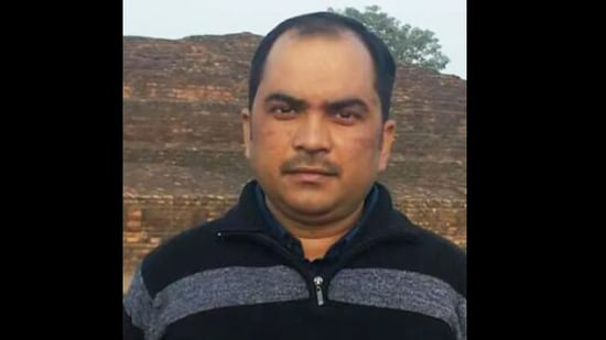 Dilip Kumar Tripathi undertook the challenge to transform the village, a task that took him six years to complete.(Twitter)