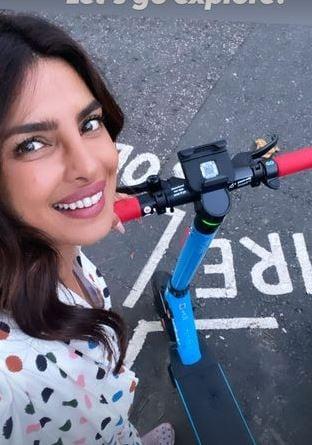 Priyanka Chopra goes exploring in London.