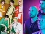 BTS, earlier this year, released a live cover video Coldplay's Fix You.