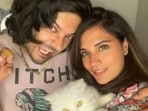 Ali Fazal and Richa Chadha worked together in the Fukrey films.