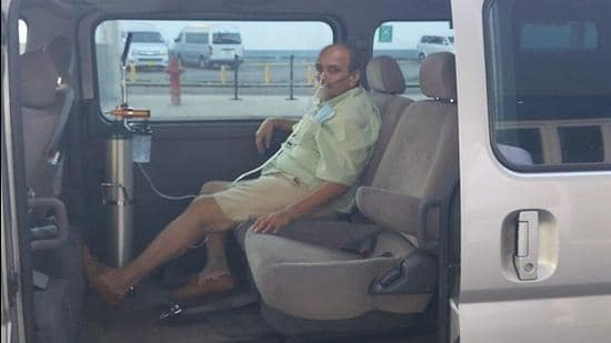 People familiar with the developments said Choksi landed at Antigua's VC Bird International Airport in an air ambulance around 3.30pm Wednesday Caribbean time (Thursday early morning India time). (Photo credit: Antiguanewsroom)