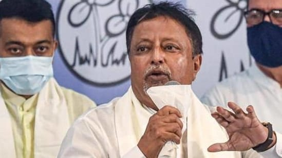 Mukul Roy, who left the BJP and returned to the ruling Trinamool Congress Party.