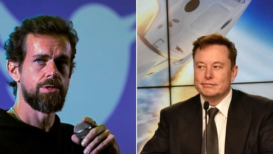 Twitter CEO Jack Dorsey's reply on Twitter's Fleet-related post prompted Space X CEO Elon Musk to share a comment.(File Photo)