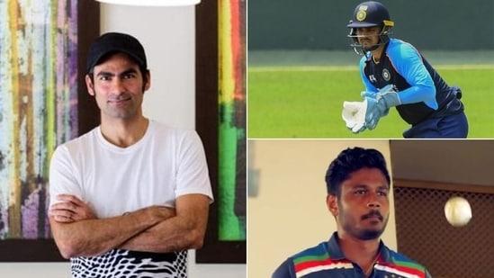Kaif picks between Samson & Kishan as India keeper for SL series(HT Collage)