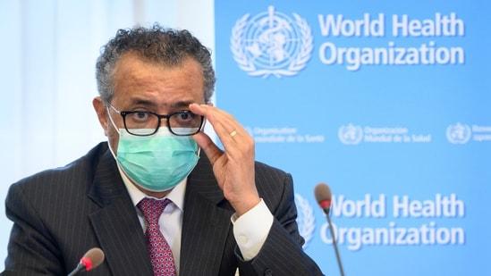 Tedros Adhanom Ghebreyesus, the director-general of the World Health Organization. (Laurent Gillieron/Keystone via AP, File)